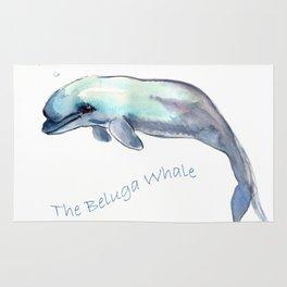 The Beluga Whale Rug