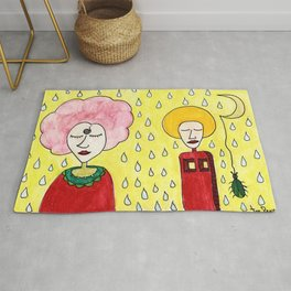 Shower of happiness Rug