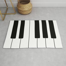 Piano Keys - Music Rug