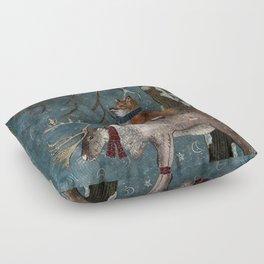 Winter Tale Floor Pillow