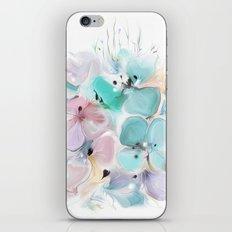 Gentle bouquet iPhone & iPod Skin