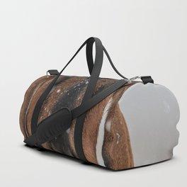Braving the Snow Duffle Bag