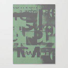 Typefart 002 Canvas Print