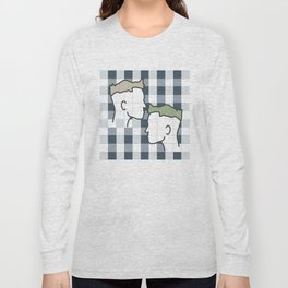Life in gingham Long Sleeve T-shirt