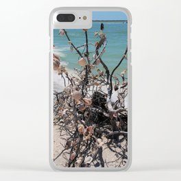 Sea Shell Samba I Clear iPhone Case