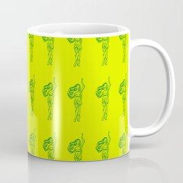 Ancient Nymph Mythical Mythology Color Pattern Coffee Mug