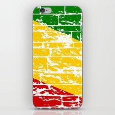 Rastafari Flag iPhone & iPod Skin