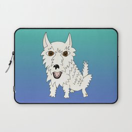 Basic Westie Laptop Sleeve