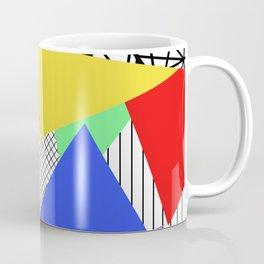 Bits And Pieces - Retro, random, abstract pattern Coffee Mug