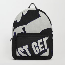 Just Get Over It Horse Backpack