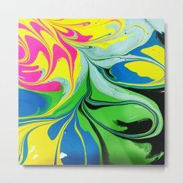 Ooh Swirly/// 1 Metal Print