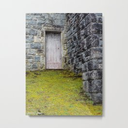 Mossy Pathway Metal Print