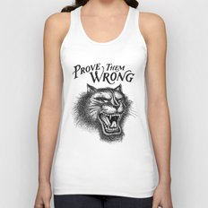 PROVE THEM WRONG Unisex Tank Top