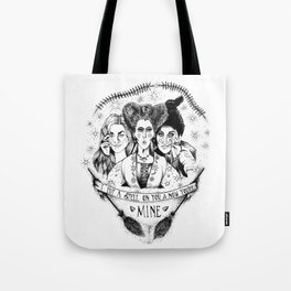 Hocus Pocus - The Sanderson Sisters Tote Bag