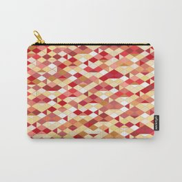 Geometrica 2 (earth tones) Carry-All Pouch