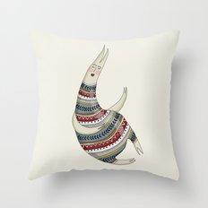 Pattern Monster Throw Pillow