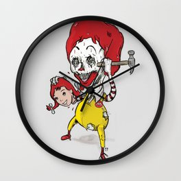 I'm luvin' it Wall Clock