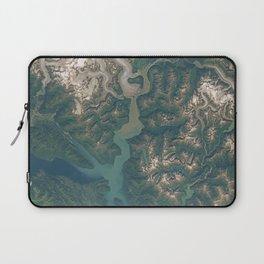 Juneau, Alaska and Taku Inlet Laptop Sleeve