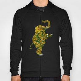 Elephant Sunflower Hoody