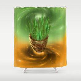 Oneness with the Universe  Shower Curtain