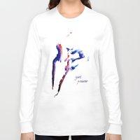 girl power Long Sleeve T-shirts featuring girl power  by Gréta Thórsdóttir
