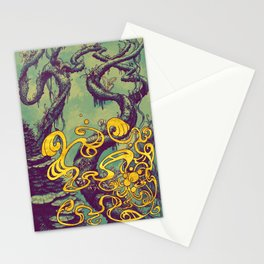 Epiphycadia III: Teal Stationery Cards