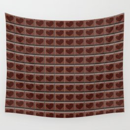 love chocolate Wall Tapestry