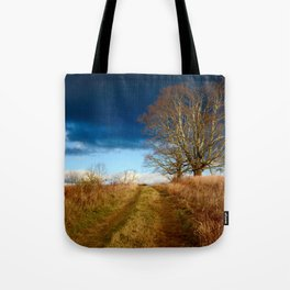 Road to the Storm Tote Bag