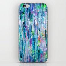 Silver Rain iPhone Skin