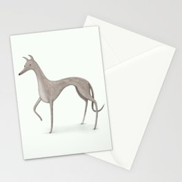 Whippet Portrait Stationery Cards