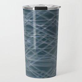 Abstract geometric background Travel Mug