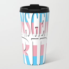 Transgender Pride Travel Mug