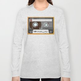 The cassette tape Robot Long Sleeve T-shirt