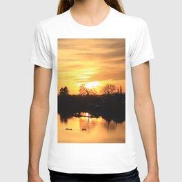 Floodplain at Sunset 3 T-shirt