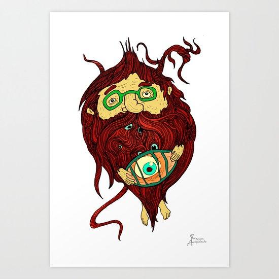 Ginger Toy Art Print