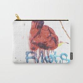 Bleeding Heart Graffiti Carry-All Pouch