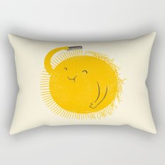 Here comes the sun Rectangular Pillow