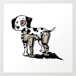 Dalmationator Art Print