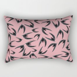 Totem swift in pink (GREFA) Rectangular Pillow