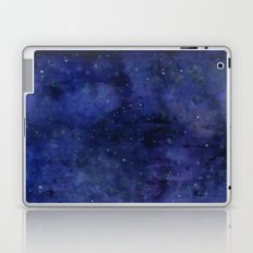 Galaxy Watercolor Nebula Texture Night Sky Stars Laptop & iPad Skin
