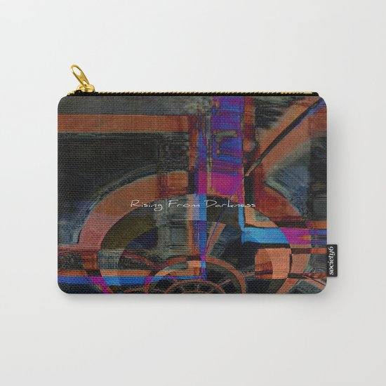 Rising From Darkness Abstract - Happiness - Inspiration Carry-All Pouch