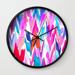 Lacquered Love Wall Clock