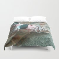 converse Duvet Covers featuring Converse by Beatrice