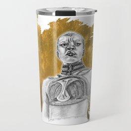 Okoye Warrior Woman #Blackpanther #wakanda Travel Mug