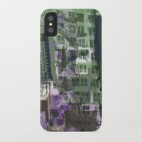 houston iPhone & iPod Cases featuring Downtown Houston by TheBigBear