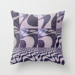 ipanema gradient 134 Throw Pillow
