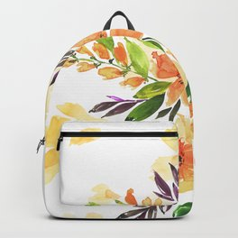 "Floral bouquet ""Felicity"" Backpack"