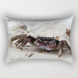 Crab from the island of Koh Samet, Thailand. Rectangular Pillow
