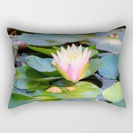Autumn Water Lily 2 Rectangular Pillow