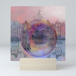 All bubbles are magical Mini Art Print